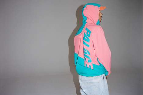 Sporty Pastel Streetwear - The New Palace Collection Features Various Summer-Ready Looks