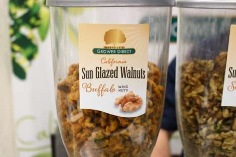 Spicy Glazed Walnuts - These Sun-Glazed Walnuts are Coated in a Buffalo Wing Flavor