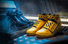 Leather Sci-Fi Shoes