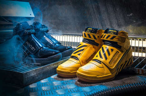 Leather Sci-Fi Shoes - The New Reebok Alien Stompers Celebrate the Release of 'Alien: Covenant'