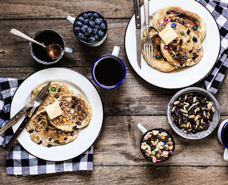 Trail Mix Pancakes