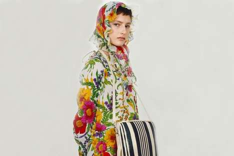 Elegant Avant-Garde Fashion - The New Balenciaga Line Features Modern Styles and Odd Accessories