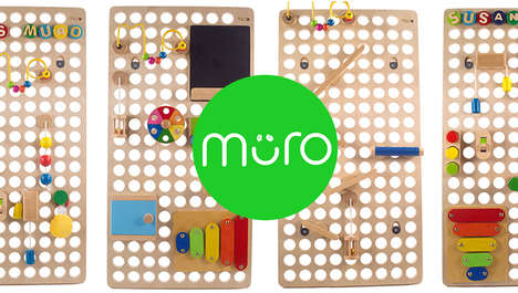 Modular Activity Toys - MURO's Customizable Design Engages Kids of All Ages in Play