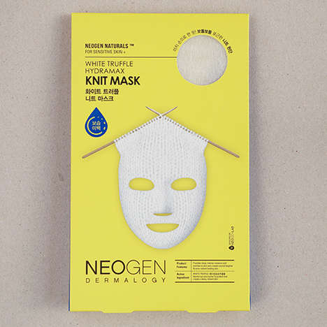Knit Sheet Masks - This Neogen Facial Sheet Mask Drives Ingredients Deeper with a Woven Texture