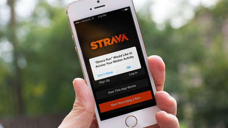 Fitness-Focused Social Platforms - Strava's 'Athlete Posts' Will Feature Curated Content