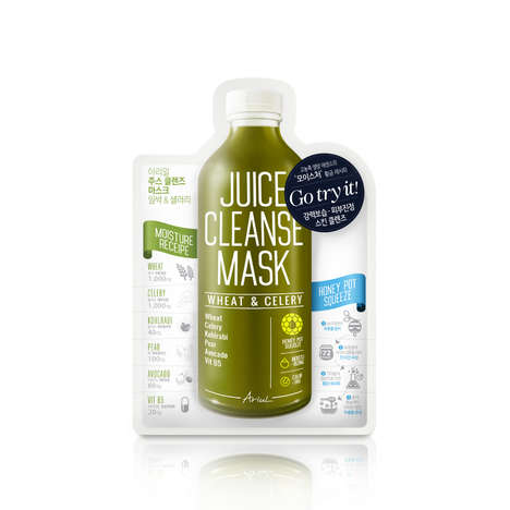 Juice-Inspired Face Masks - Ariul's Cleansing Facial Mask Takes Cues from Freshly Bottled Juices
