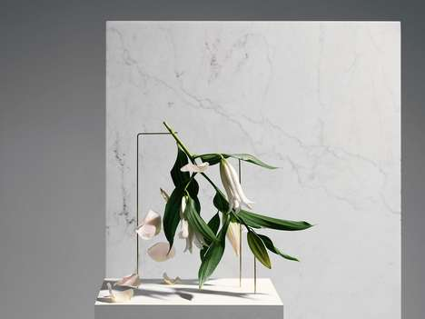 Minimalist Sculptural Vases - These Vases Turn Flowers into Sculptural Arrangements