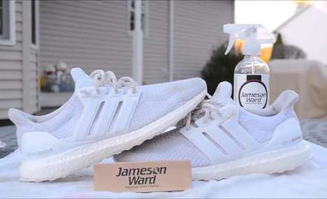 Plant-Based Sneaker Cleaners - Jameson Ward Premium Shoe Cleaner is Made from Natural Ingredients