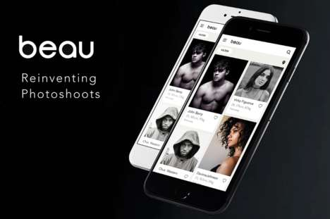 Photographer Networking Apps - The 'Beau' App Connects Models and Photographers in the Industry