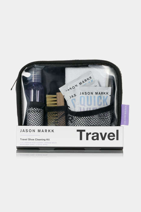 Travel Shoe Cleaning Kits - Jason Markk Offers Shoe Cleaning Tools for Simple and Convenient Use