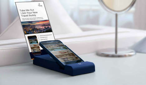 Hotel Handset Gadgets - Handy Devices Provide Free Smartphone Service and Access to Other Ammenities