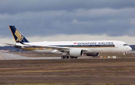 Eco-Friendly International Flights - Singapore Airlines Biofuel Flights Run Partially on Cooking Oil