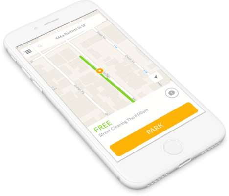 Attentive Parking Apps - The SpotAngels App Notifies Users When They're About to Be Ticketed