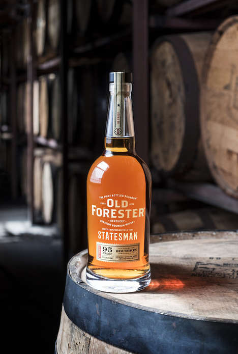 Fictional Spy Bourbons - Old Forester Statesman Will Have a Leading Role in the New Kingsman Film