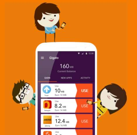 Free Data-Earning Apps - Gigato is an App That Provides Free, Unrestricted Internet Data For Users