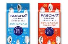 Organic Rice Milk Chocolates - Pascha Organic's New Rice Milk Bars are Organic and Dairy-Free