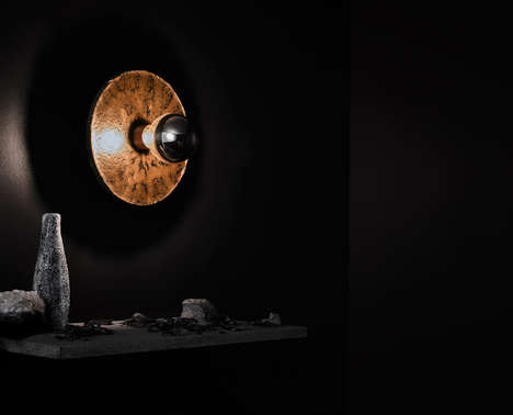 Stony Lighting Collections - James Walsh's 'Igneous Light' is Made from Victorian Bluestone