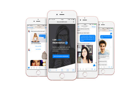 AI Matchmaker Chatbots - Match.com's 'Lara' AI Bot Suggests Matches Via Facebook Messenger