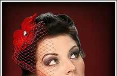 Retro-Style Headpieces - Sizzling Hot Pin-Up Style Fascinators Make A Fashion Comeback