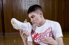 Fetishvertising Fashion - 'Phenomenon' Sniffs Sneakers in S/S '09 Campaign