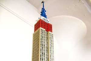 New York City Replica Made Entirely of LEGO Blocks