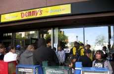 Free Foodvertising - Gratis Grub at Denny's Feeds 2 Million Patient People