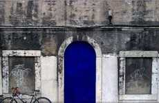 Bright Blue Doors