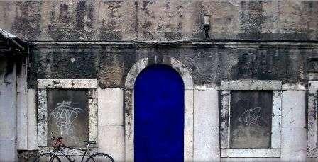 Bright Blue Doors