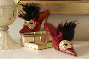 These Fantasy Vintage Sandals Are Perfect for a Costume Ball
