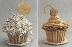 Cardboard Desserts - These Inedible Sculptures Are Actually Supposted to Taste Like Cardboard