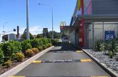 Speed Bumps to Promote Fries - Creative McDonald's Shakevertising Campaign