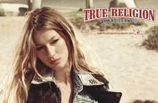 Scorching Denim Campaigns - Gisele Bundchen Sizzles for True Religion Ads