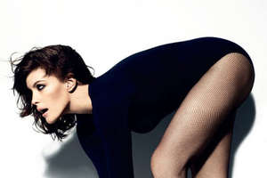 Liv Tyler Rocks the Leotard in Wonderland Magazine