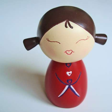 Manga-Inspired Friendship Dolls - Momiji Dolls Are Cute Harajuku Toys for Adults or Kids