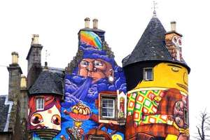 Graffiti Artists Channel Bad Acid Trips to Attack Scottish Castle