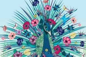 Nadia Flower's Exquisite Artwork is An Explosion of Color