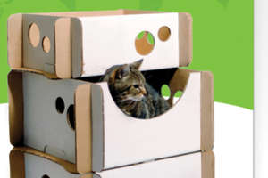 Caboodle Eco-Friendly Cardboard Feline Furniture