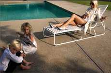 Socialites as Suburban Housewives - Paris Hilton Plays Mommy for Tony Duran