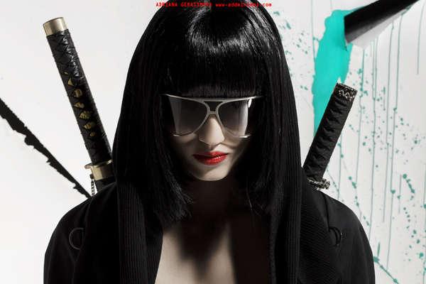 Samurai-Inspired Fashion Editorials