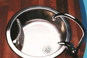 Magisso In-Sink Kitchen Cloth Holder Keeps Counters Dry