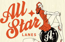 Retro-Inspired Bowling Bars - London's 'All Star Lanes' Blends Pins and Pin-Ups