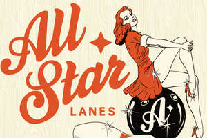 London's 'All Star Lanes' Blends Pins and Pin-Ups