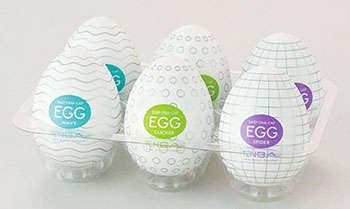 Egg-Shaped Naughty Toys