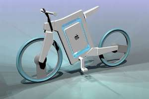 Apple Bicycle Takes You for a Green, High-Tech Ride