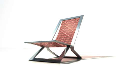 Morphing Chairs - The Mosaic Folding Chair Doubles as a Stylish Room Divider