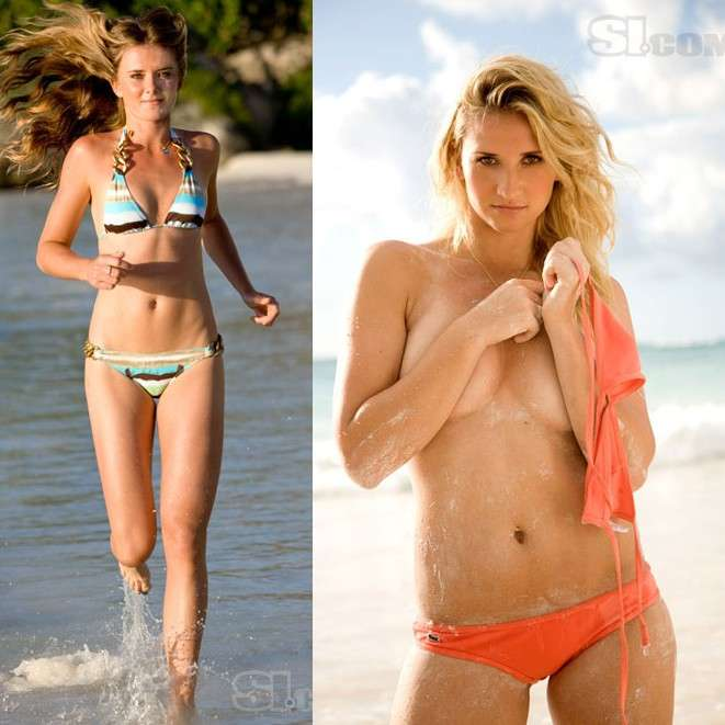 Tennis Players as Bikini Models