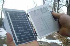 Eco-Friendly Digital Books - Snippy the Solar-Powered E-Book Reader Is A Truly Novel Concept