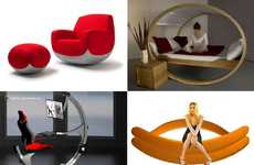 29 Lively Rocking and Swinging Pieces of Furniture