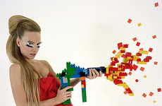 Couture House Lanvin Geeks it Up With Lego and Pacman