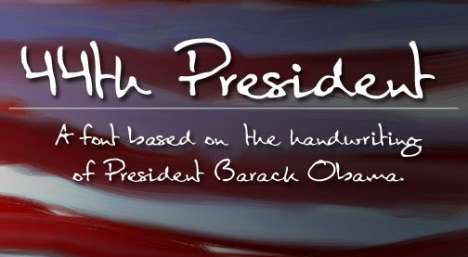Presidential Typefaces